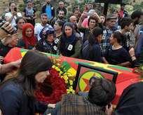HDPliler yine terörist cenazesinde