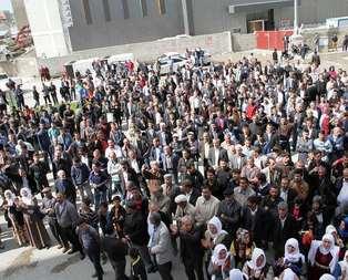 Bölge halkından HDPye destek yok!