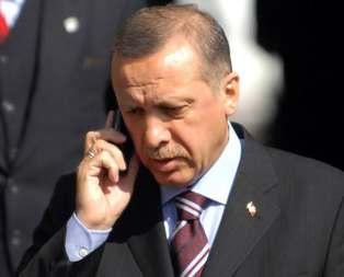 Erdoğandan Aziz Sancara tebrik telefonu