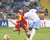 Trabzonsporun hedefi Ömer Bayram