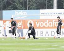 Beşiktaş çift idman gerçekleştirdi