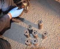 Aracında bomba malzemesi bulunan başkan tutuklandı