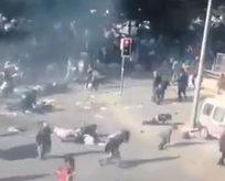 Ankaradaki saldırının yeni görüntüleri