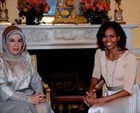First Lady'ler Emine hanımla