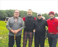 İşadamları golfte buluştu