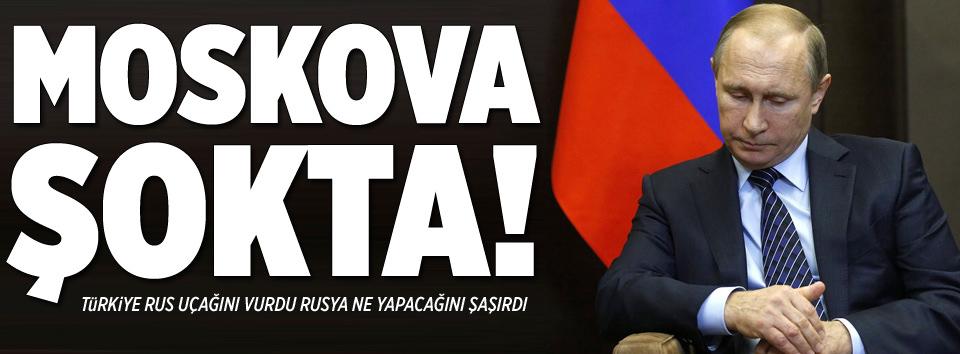 Moskova şokta