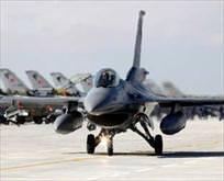Sınırda 18 F-16