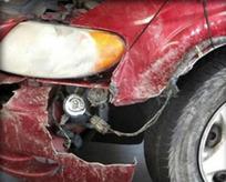 Bu arabayı bu hale getiren bir kaza değil!