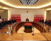 Kritik toplantı sona erdi