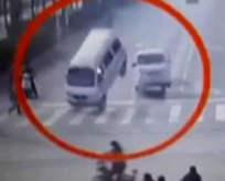 Dünyanın konuştuğu kaza