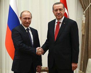 Erdoğan ve Putinin Pariste görüşmesi...