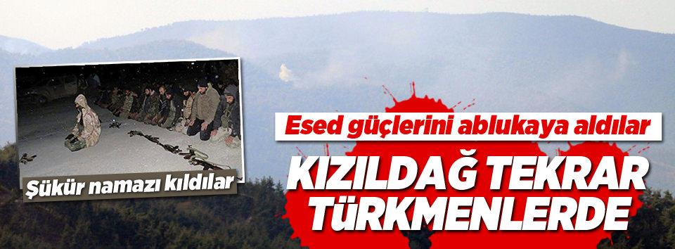 Kızıldağın kontrolü tekrar Türkmenlerde