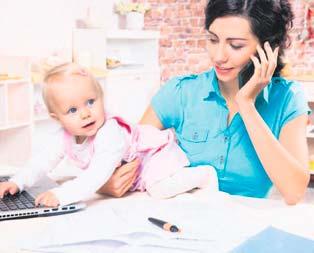 Çalışan anneye iki müjde geliyor