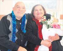 Hastanede evlilik kutlaması
