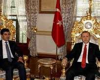 Erdoğan ile Barzani terörle mücadeleyi görüştü