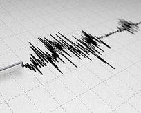 20 dakika aralıkla iki deprem