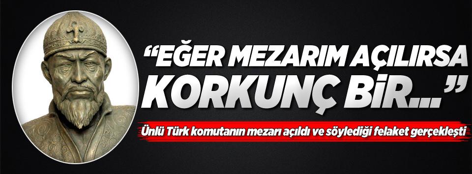 Ünlü Türk komutanın kehaneti gerçekleşti