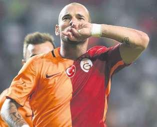 Wesley Sneijdere de 52 milyon TL!