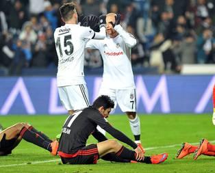Beşiktaştan gol yağmuru