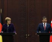 Davutoğlu ve Merkel 10 madde üzerinde anlaştı