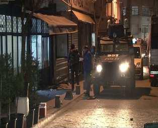 Beyoğlunda dernek lokaline ses bombası atıldı