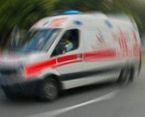 Memurları taşıyan araçta patlama: 2 ölü