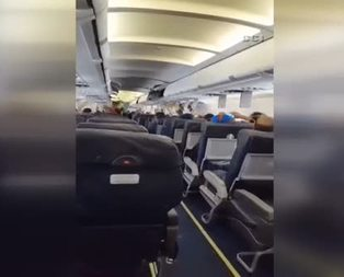 Uçakta bomba patladı!