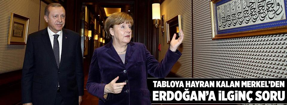 Merkelle hat sohbeti