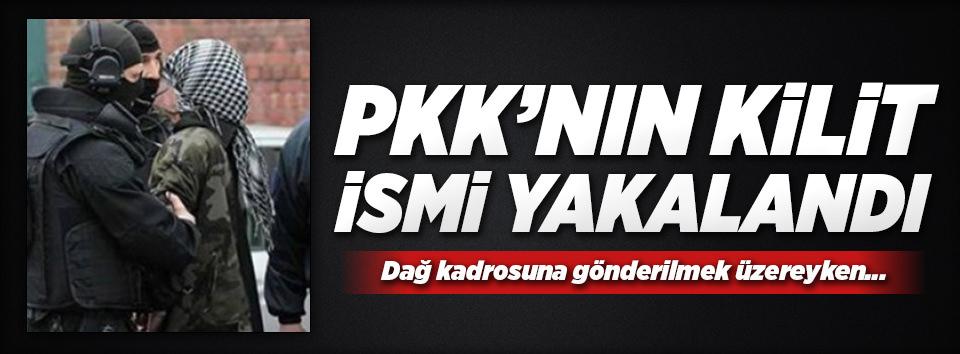 PKKnın kilit ismi yakalandı!