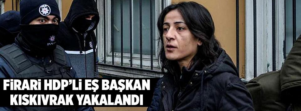 Kaçak HDP'li Eş Başkan yakalandı!