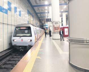 Sürücüsüz metro geliyor
