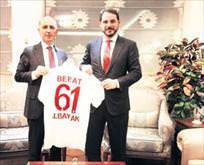 Trabzonspor Başkanı Ustadan Albayrak ve Soyluya ziyaret