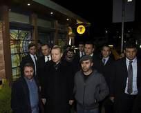 Erdoğan esnafla sohbet etti