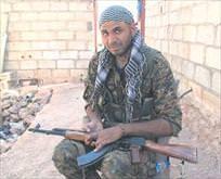 Kandilde eğitim YPGde silah
