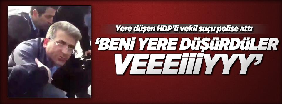 HDPli vekilden polise ağır hakaret