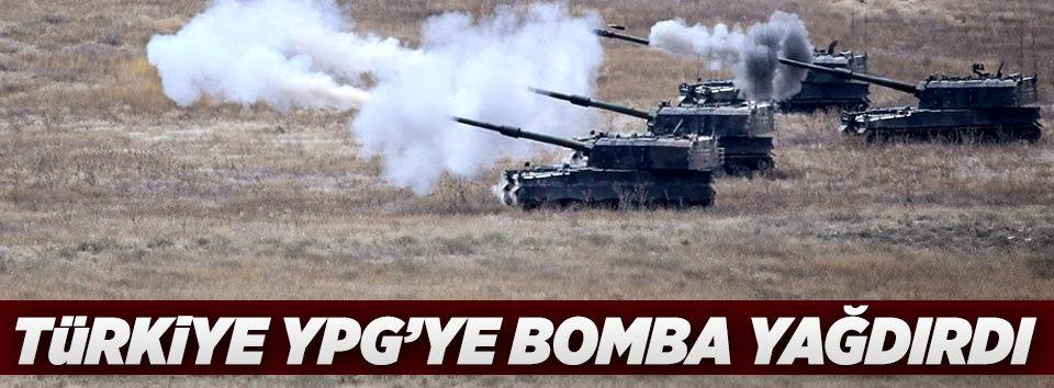 Türkiye PYD mevzilerini vurdu!