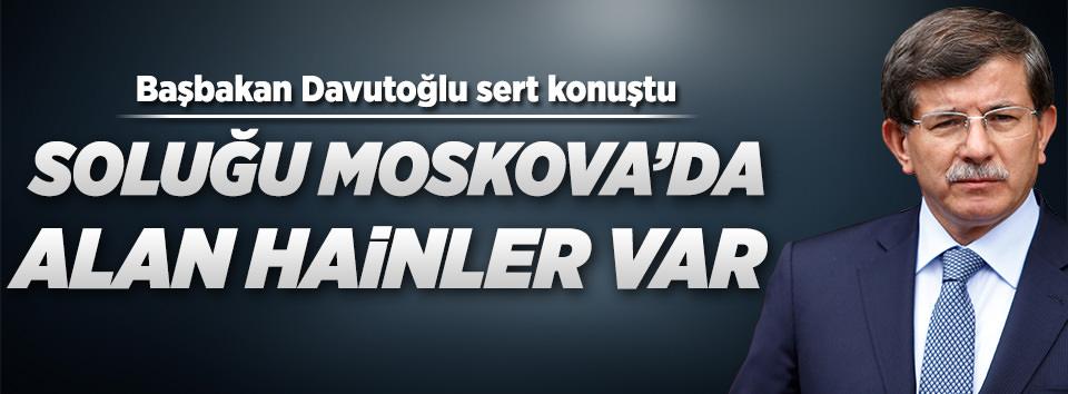 Başbakan Davutoğlu sert konuştu!