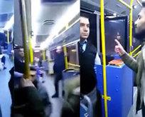 PKK yandaşları halk otobüsünü bastı