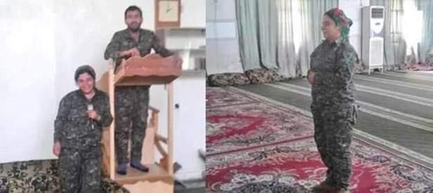 Terör örgütü YPG camileri talan etti!