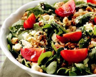 Tulum Peynirli Semizotu Salatası Tarifi