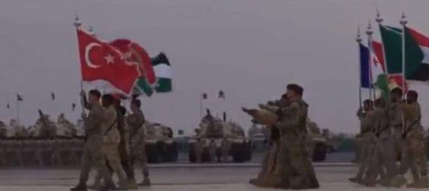 İşte İslam Ordusunun muhteşem görüntüleri