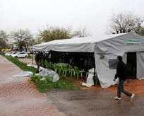 İhanet çadırına polis baskını