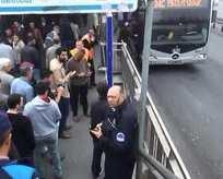 Avcılar metrobüste patlama ihbarı