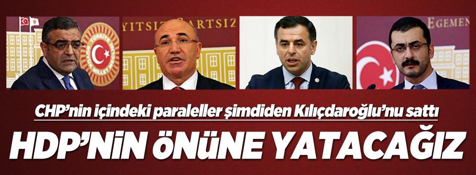 CHP'li vekiller Kılıçdaroğlu'nu takmıyor
