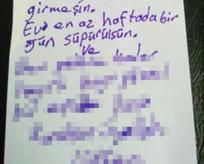 Annenin oğluna yazdığı not sizi tebessüm ettirecek