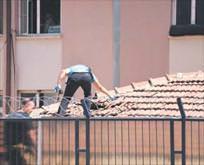 Çatıya bomba
