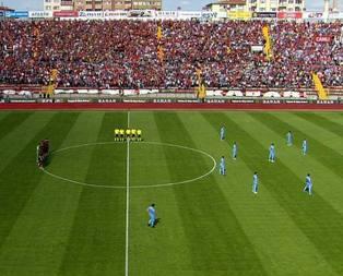 Trabzonspordan ilginç protesto!