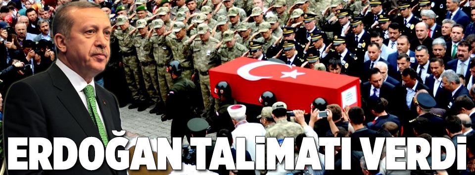 Cumhurbaşkanı Erdoğan şehit ailesine ev yaptıracak