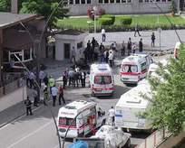 Emniyet Müdürlüğüne bomba yüklü araçla saldırı