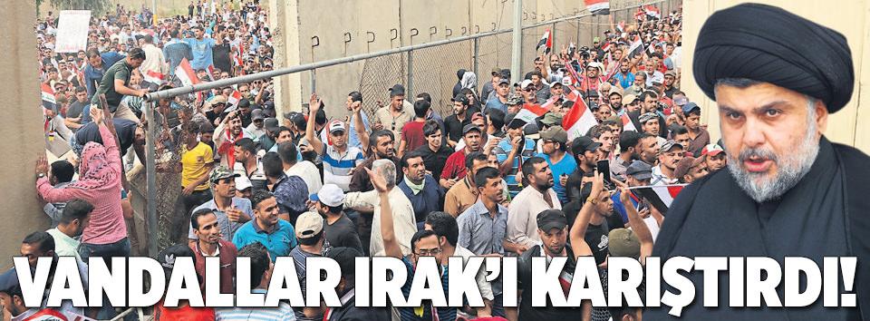 Irak karıştı